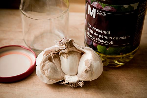 Conserver l'ail dans l'huile