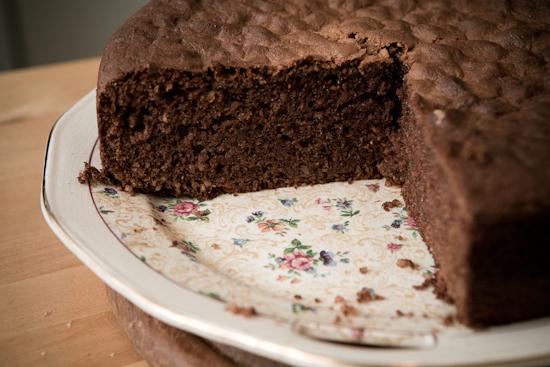 Gâteau Nancéien au chocolat et aux amandes
