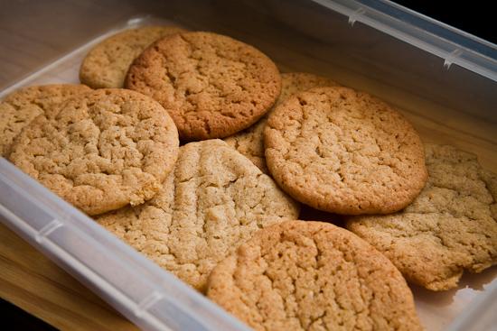 Cookies à la mode bretonne : caramel au beurre salé et farine de sarrasin