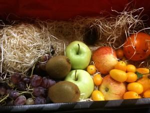 Fruits frais de saison en entreprise