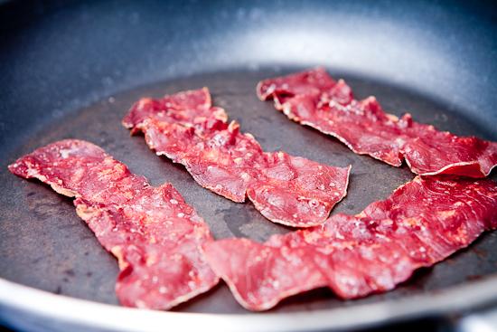 Chips de viande séchée des Grisons
