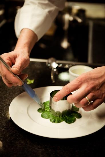 Préparation du tartare de cabillaud