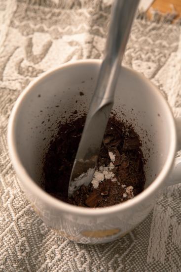 Ingrédients pour le chocolat chaud