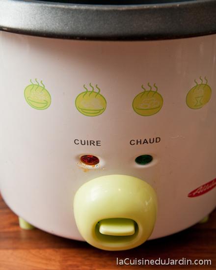 Comment utiliser le cuiseur à riz