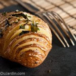 Pommes de terre au four  la sudoise {Hasselback Potatis}