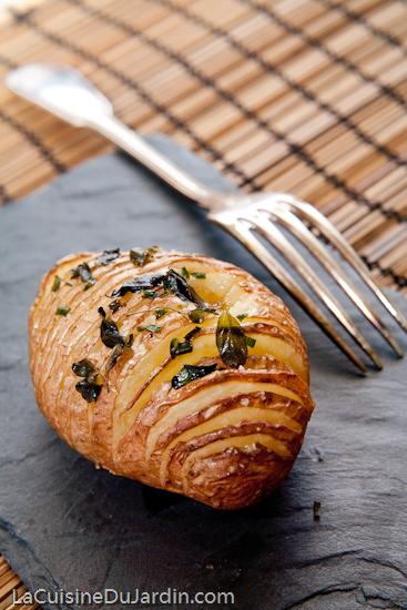 Hasselback Potatis