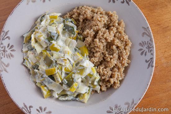 Légumes et Quinoa