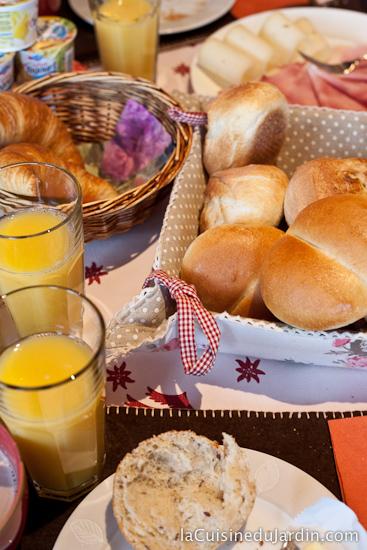 Petit Déjeuner à l'Hôtel Alpina - Champex Lac