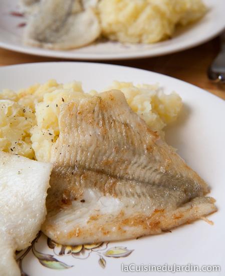 Filet de poisson façon meunière