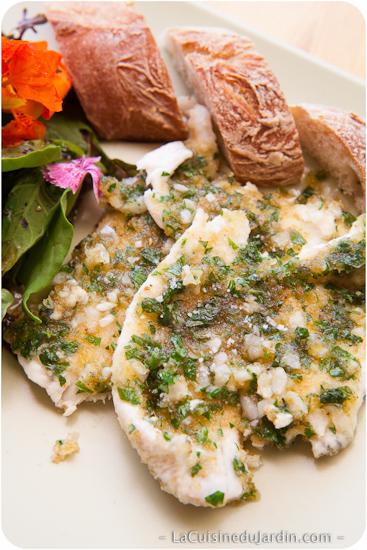 Filets de carrelet à la Provençale