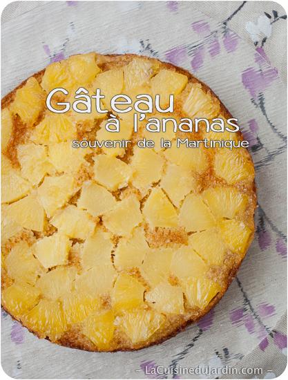 Gâteau à l'ananas de la Martinique