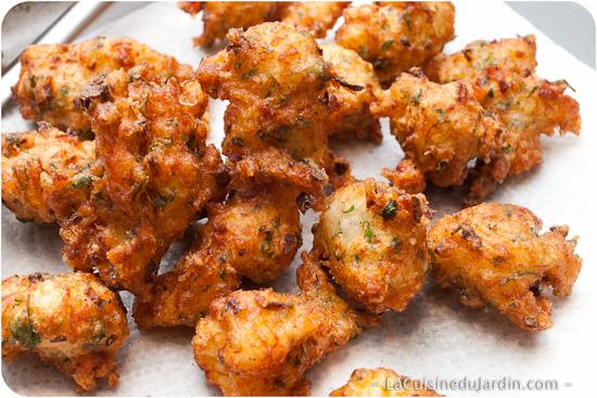 Les vrais accras acras de morue recette rapide la - Recette de cuisine antillaise facile ...