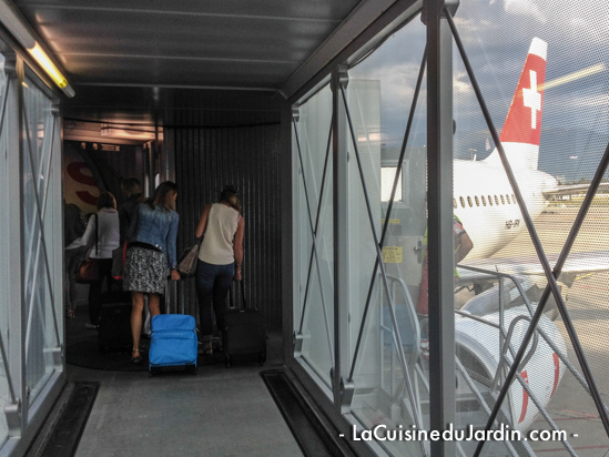 Bagage en soute swiss air