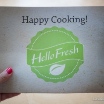 "Box de Cuisine ""Hello Fresh"""