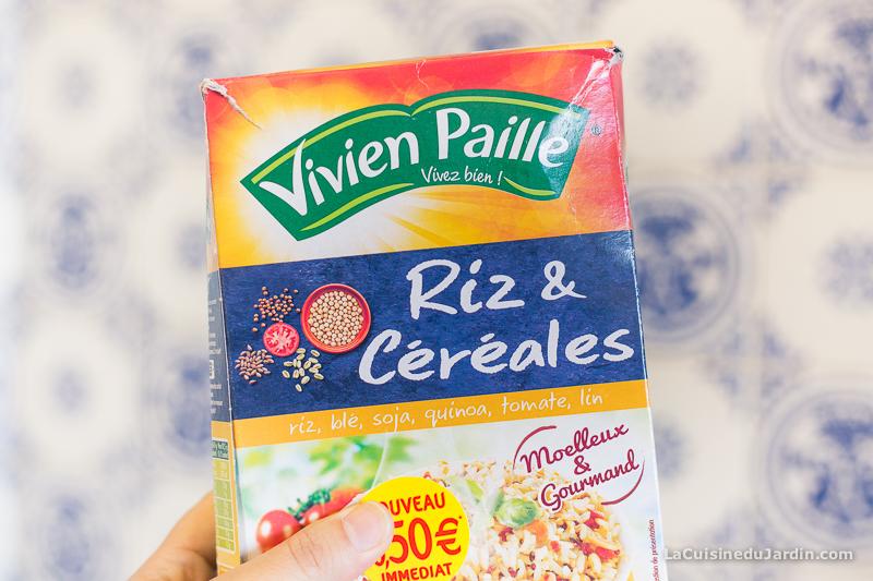 """""""Riz & Céréales"""" de Vivien Paille reçu dans ma DégustaBox"""