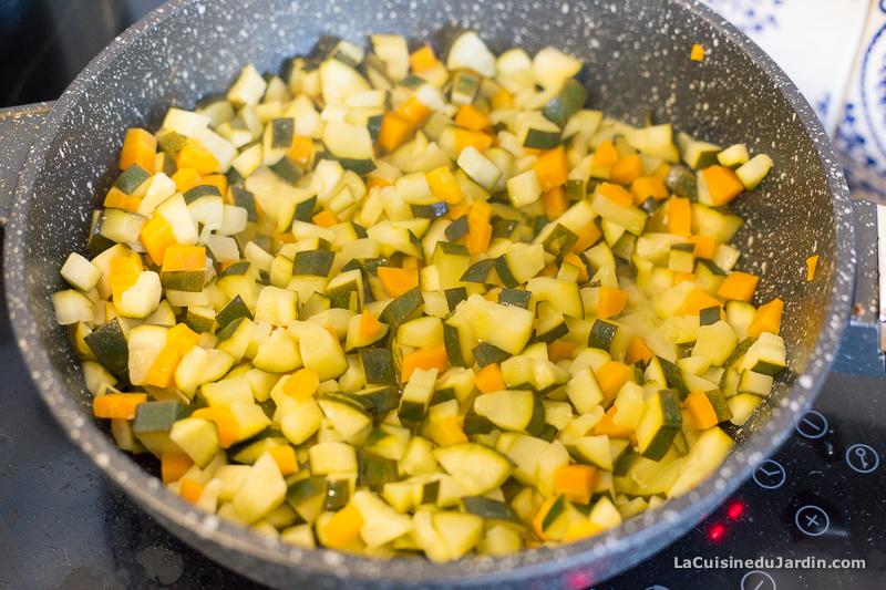 Courgettes et carottes