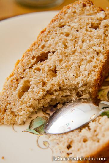 Gâteau à la farine d'épeautre