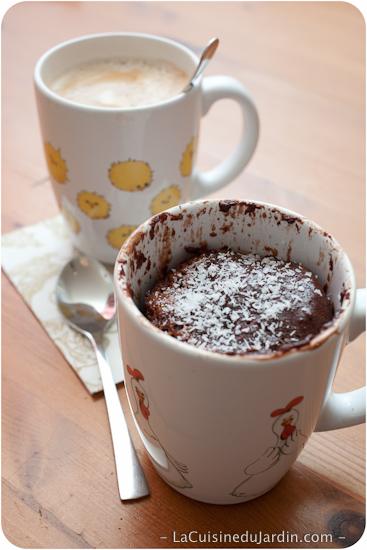"""Mug Cake"" : gâteau dans une tasse"