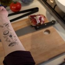 Tatouage temporaire - recette de cuisine